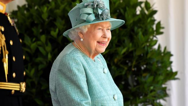 La reina Isabel II en una imagen de archivo.