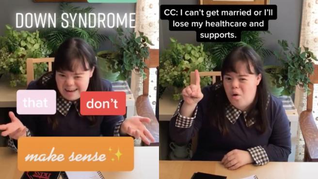 Mujer con síndrome de Down muestra cómo la discriminan.