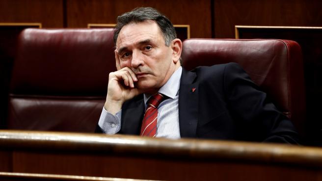 El diputado de Unidas Podemos-En Comú Podem-Galicia en Común, Enrique Santiago.