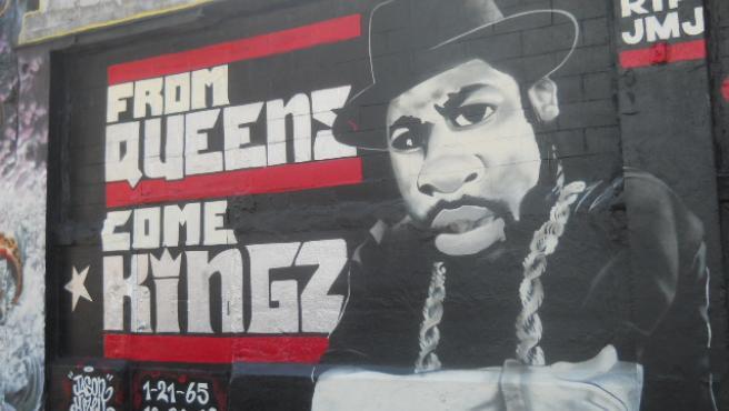 Mural de Jam Master Jay en Queens