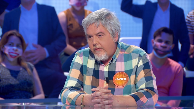 Javier Coronas, en 'Pasapalabra'.