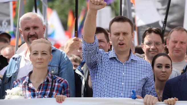 AMP.- Rusia.- El opositor ruso Navalni, en estado grave tras ser presuntamente e