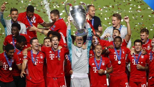 El Bayern conquista su sexta Copa de Europa.