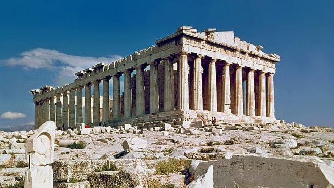 El Partenón, Atenas, Grecia. Un antiguo templo construido para adorar a Atenea Foto Steve Swayne Wikimedia Commons