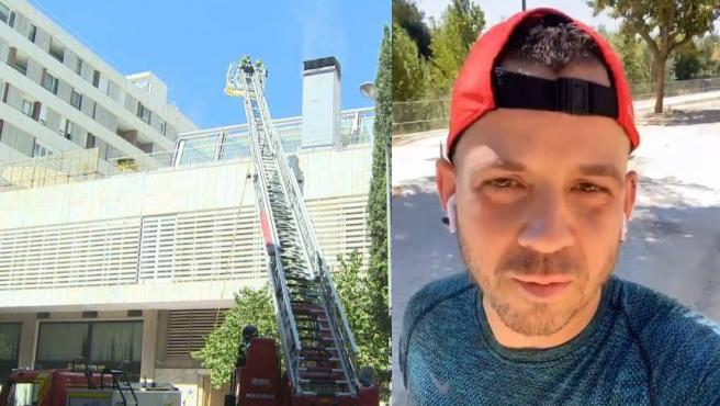 Dabiz Muñoz ha reaparecido tras el incendio en su restaurante DiverXO.