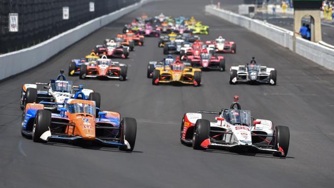 Takuma Sato gana las 500 millas de Indianápolis, en las que ...