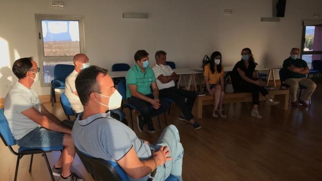 Reunión de agentes socioeconómicos de la zona de Castril