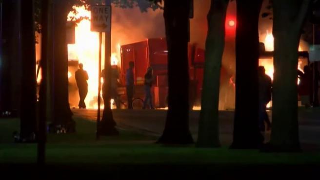 Disturbios en Wisconsin por los 7 disparos