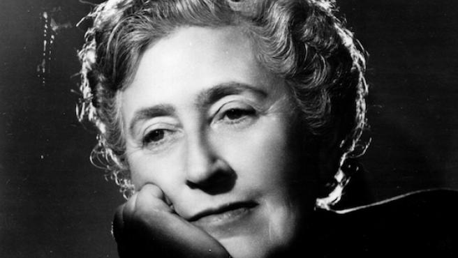 La escritora Agatha Christie.