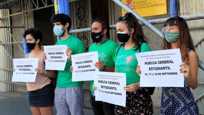 El Sindicato de Estudiantes anuncia huelga por condiciones de vuelta al cole