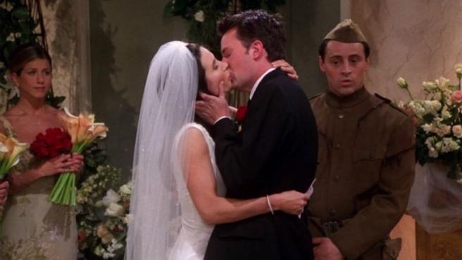 'Friends': El inesperado reencuentro de Monica y Chandler