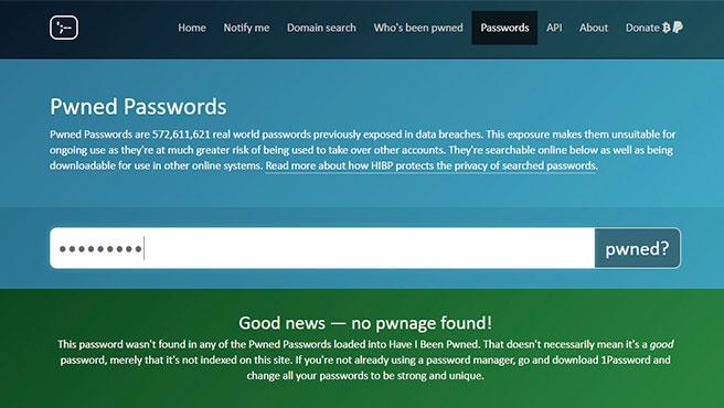 La web te dice al instante si tu contraseña formó parte de algún hackeo masivo en la red