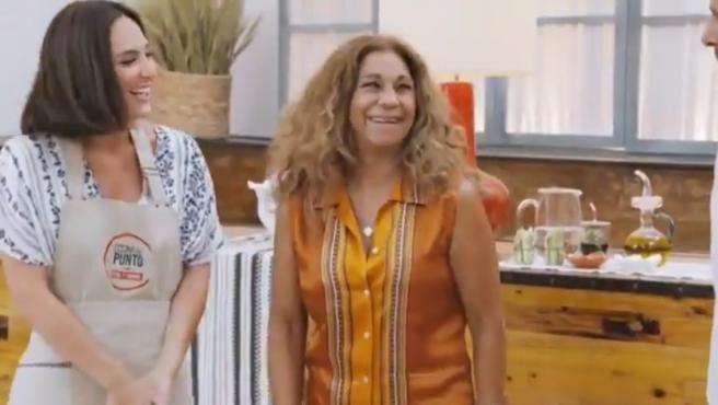 Lolita Flores y Tamara Falcó hablan de Elena Furiase en 'Cocina al punto'.