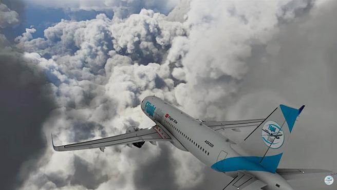 Los usuarios de Microsoft Flight Simulator se dirigieron al Golfo de México para atravesar el huracán Laura en tiempo real