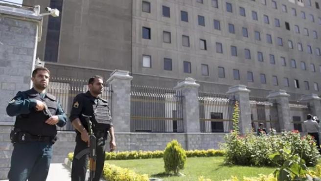 Imagen de archivo de la policía en Teherán.