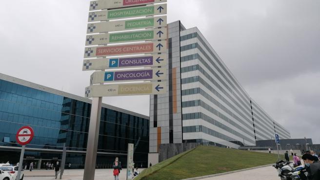 Imagen de archivo del Hospital Universitario Central de Asturias (HUCA)