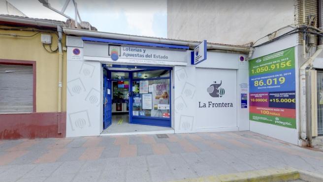 Administración de Loterías número 2 de Petrer, Alicante.