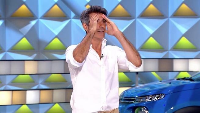 Jorge Fernández, en 'La ruleta de la suerte'.