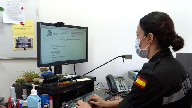 Los rastreadores militares, preparados para ayudar a las CCAA