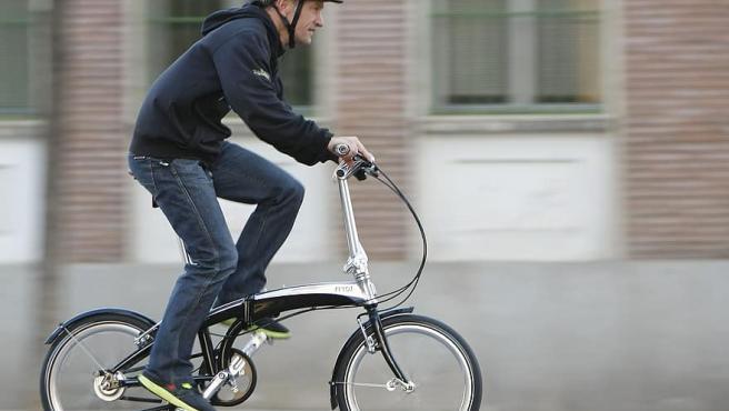 Las e-bikes plegables son perfectas para la ciudad.
