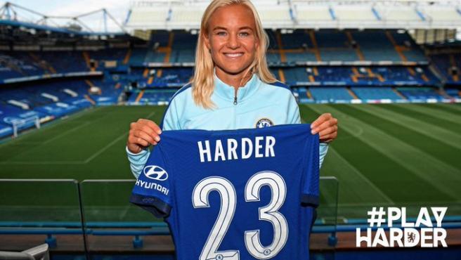 Pernille Harder ficha por el Chelsea