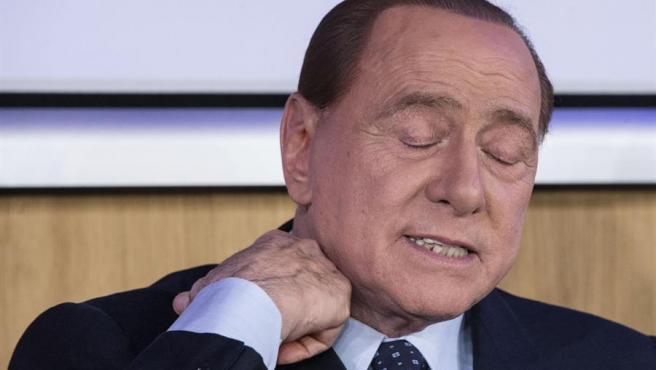 El líder de Forza Italia, Silvio Berlusconi, en una imagen de archivo.