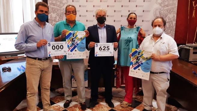 Presentación en el Ayuntamiento de Granada de la carrera Memorial Andrés Prieto