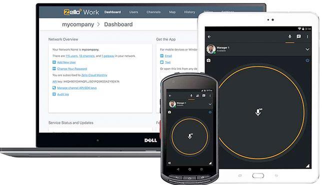 Zello Walkie Talkie ofrece mensajería de voz en tiempo real