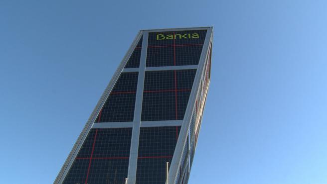 La sede de Bankia, en Madrid