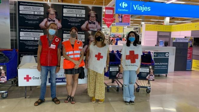 Voluntarios de Cruz Roja Región de Murcia