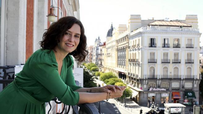 Isabel Díaz Ayuso, en una entrevista con 20minutos.