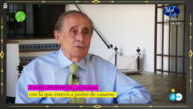 Jaime Peñafiel, en 'Hormigas blancas'.