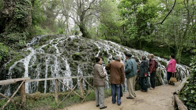 El Monasterio de Piedra es Monumento Nacional desde 1983 y está considerado como uno de los enclaves más bonitos de Europa