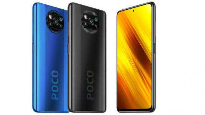El POCO X3 NFC de Xiaomi llega en azul y en gris