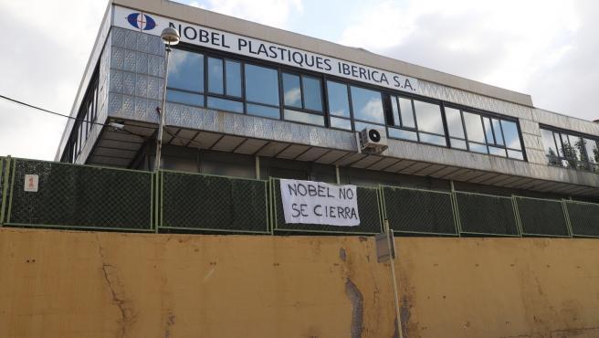Convocan huelga indefinida en Nobel Plastiques Ibérica. Convocan huelga indefinida en Nobel Plastiques Ibérica. 8/9/2020