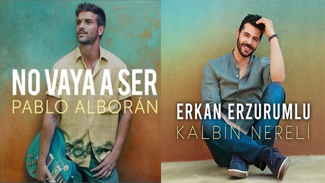 A la derecha la portada de 'No vaya a ser' a la izquierda la de 'Kalbin Nereli'