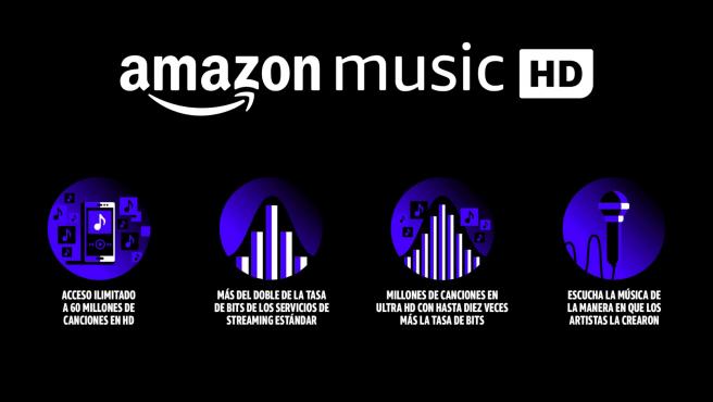 """Amazon Music HD reproduce audio """"de la más alta calidad"""""""
