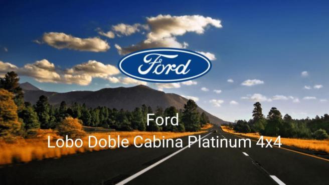 Ford Lobo Doble Cabina Platinum 4x4