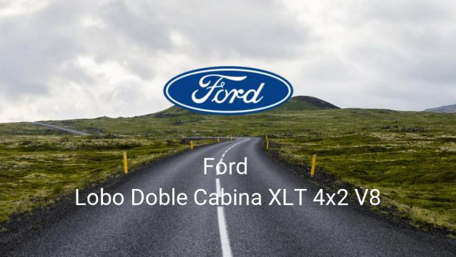 Ford Lobo Doble Cabina XLT 4x2 V8