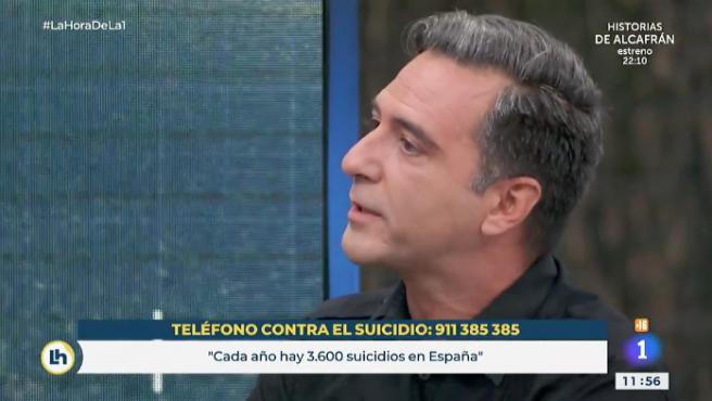 Javier Martín en 'La hora de La 1'.