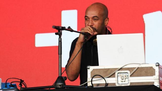 El DJ y productor Jota Mayúscula, pionero del hip-hop en España.