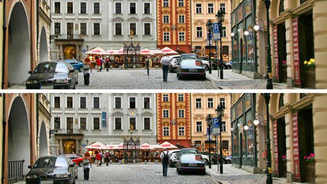 La CIA propone encontrar 10 diferencias entre estas fotos.