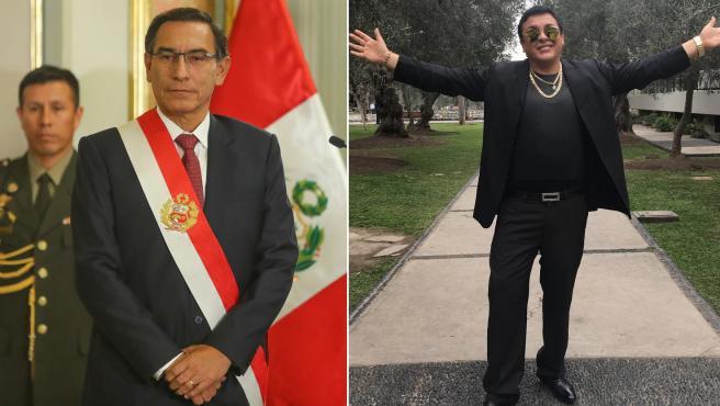 Richard Swing, el desconocido cantante que puede dejar a Perú sin presidente
