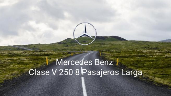 Mercedes Benz Clase V 250 8 Pasajeros Larga