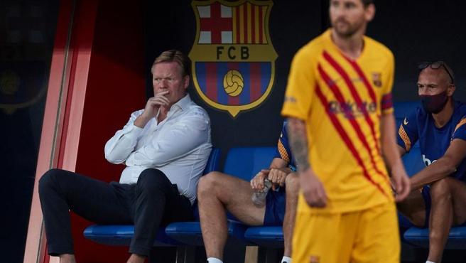 Koeman debuta en el banquillo del Barcelona
