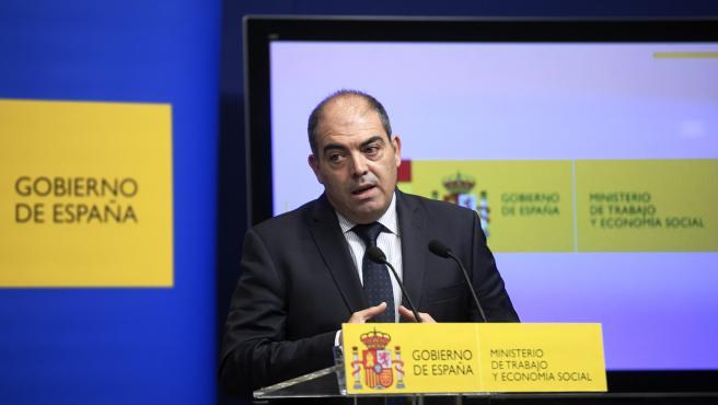 El presidente de la Federación Nacional de Asociaciones de Trabajadores Autónomos (ATA), Lorenzo Amor, en una imagen de archivo,
