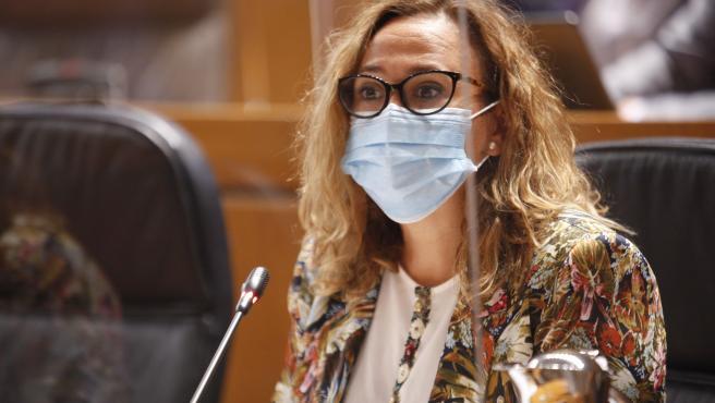 La consejera de Presidencia de Aragón, Mayte Pérez.