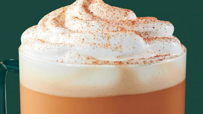 Este 'Pumpkin Spice Latte' o café de calabaza es todo un éxito.