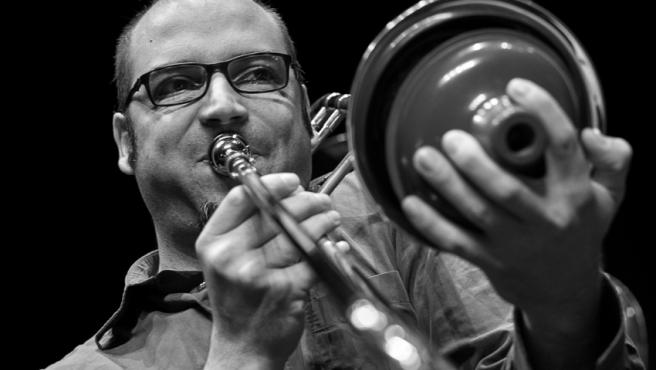 El trombonista valenciano Toni Belenguer.