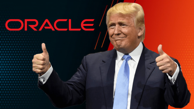 Trump apoyaba la compra por parte de Oracle.